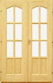 Kétszárnyú beltéri ajtó obi